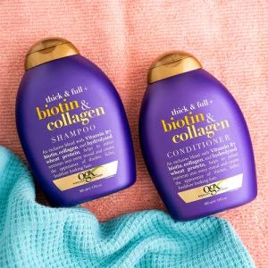 $6.97(原价$8.47)OGX 生物素胶原蛋白洗发水特卖 补充营养 防止脱发