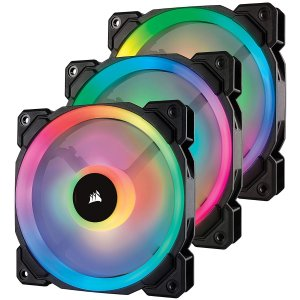 Corsair LL120 RGB 120mm PWM Fan 3-Pack
