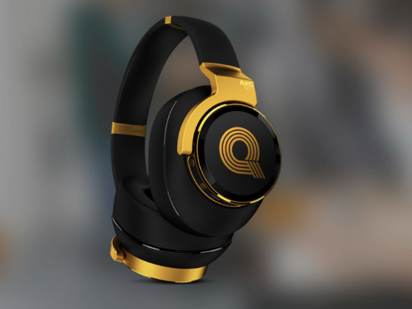 AKG N90Q 降噪HiFi DAC 解码一体式耳机