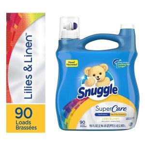 Snuggle SuperCare Liquid Fabric Softener, 95 Ounce