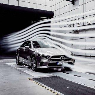 超低风阻系数 新车即将来美2019 Mercedes Benz A级轿车 打破量产车记录