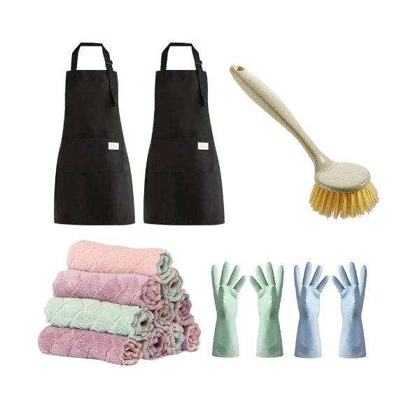家居清洁套装15件套