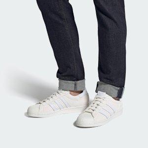 低至6折 £37收大童款adidas superstar系列热促折扣升级 经典贝壳头 百搭必备单品