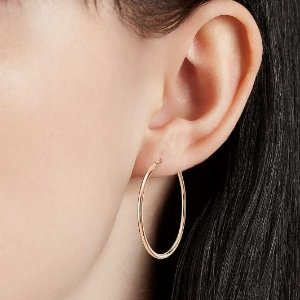 Up to 30% OffHoop Earrings @Blue Nile
