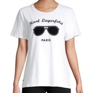 Karl Lagerfeld ParisGraphic Crewneck Tee