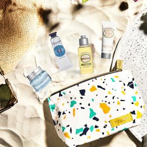 $80 含乳木果系列L'occitane 创造你的专属旅行护肤包