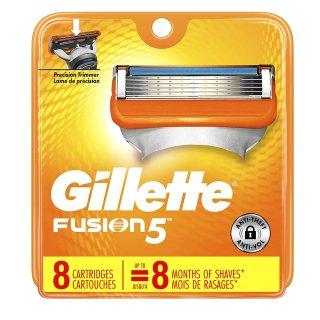 Gillette Fusion Power Razor Refill Cartridges, 8 Cartridges