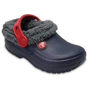 CrocsClassic Blitzen III Lined  毛毛洞洞童鞋
