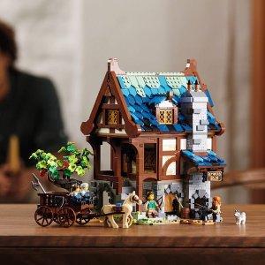 Lego中世纪铁匠铺 21325   Ideas系列