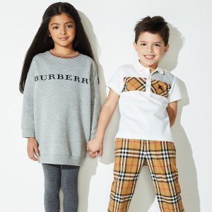 最高$300礼卡 变相7折儿童Burberry新款秋冬服饰热卖,最大14岁尺码