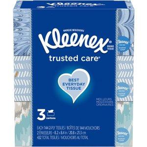 Kleenex Trusted Care Facial Tissue