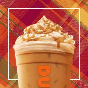 下单就送中杯咖啡Dunkin Donuts 国家咖啡日限时活动 本周下单3次另送免费饮品