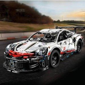2019年新品!现价£109.99(原价£139.99)LEGO 乐高 科技系列 42096 保时捷911 RSR 热卖