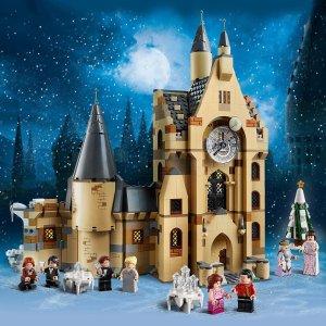 折后€67 圆一个巫师梦惊喜补货:LEGO 75948 霍格沃茨钟楼热卖 拼搭极致细节