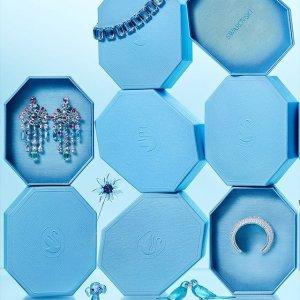 低至3折+包邮免税Swarovski 专场热卖,好价收蓝水晶天鹅项链