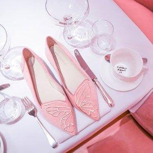 最高减$275 抱回你的小蝴蝶Sophia Webster 超仙平底高跟鞋满减热卖