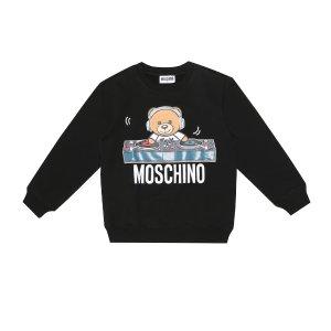 MoschinoPrinted stretch-cotton sweatshirt