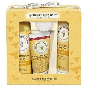 $12.79 (原价$23.29)Burt's Bees小蜜蜂 婴儿洗护5件套 包装盒还能变成相片框
