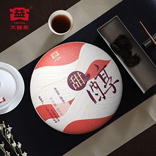 大益甜醇普洱茶 熟茶