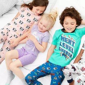 一律5折+满额7.5折+免邮闪购:Carter's官网 儿童睡衣/家居服一日热卖