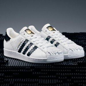 定价€140+包邮adidas x LEGO® 合作款贝壳鞋今日新鲜发售 36-49码全快抢