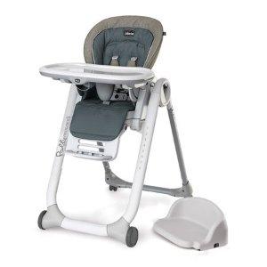 $89.99史低价:Chicco 婴幼儿五合一高脚餐椅,从出生到八岁,无需再买便携餐椅
