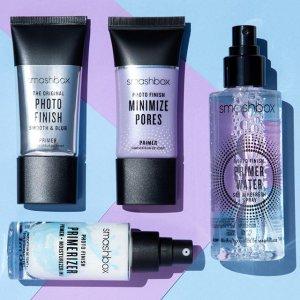 5 FREE MINISWITH ANY $55+ ORDER @ Smashbox Cosmetics