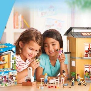 """比肩""""乐高""""全球畅销的启智情景玩具上新:Playmobil 德国百乐宝摩比儿童益智玩具热卖"""