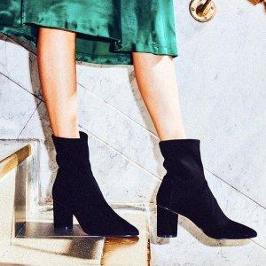 无门槛7.5折+免邮,最高减$249Stuart Weitzman 官网 精选正价美鞋优惠