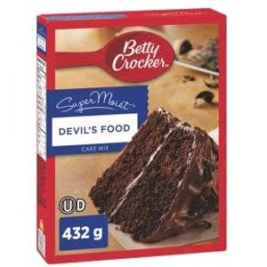 $1.5起 轻松做甜品白菜价:Betty Crocker 蛋糕、饼干、奶油粉  聚餐必备快手甜品