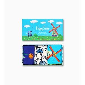 Happy SocksDutch 3双套盒