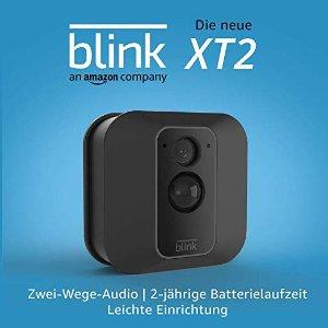 The new Blink XT2 室内外通用 1080P 无线智能监控摄像头 带云储存 双向通话 2年续航