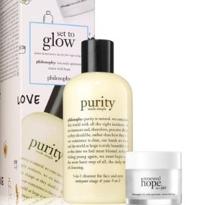 $14.97Philosophy set to glow cleanse & moisturize duo Sale