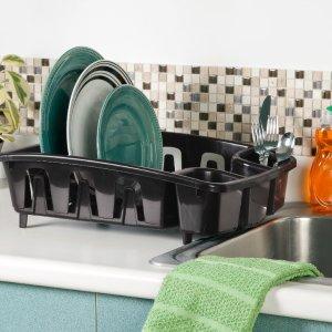 $6.85 1个仅$1.71白菜价:Sterilite 简易碗具沥水架 4件装
