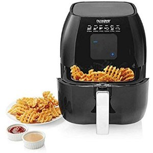 NuWave Versatile Brio Air Fryer with One-Touch Digital Controls, 3-Quart