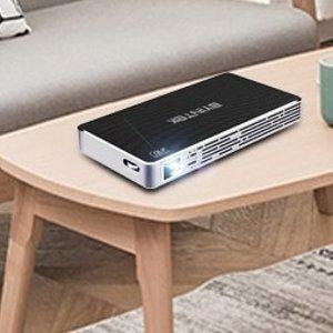 $206抱走, 家庭娱乐小钢炮BYINTEK mini 投影仪 P10, 仅手机大小, 配备智能系统, 支持投屏