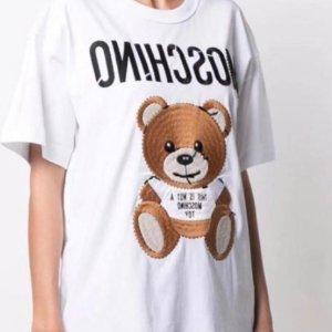 5折起!冷帽£21 卫衣£37Moschino 大童专场 超多14Y 爆萌Teddy熊超可爱超好买