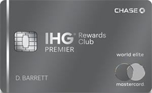Earn 125,000 bonus pointsIHG® Rewards Club Premier Credit Card