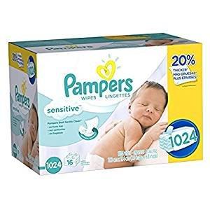 16.92(原价$24.98)Pampers 婴儿湿巾(两款可选)