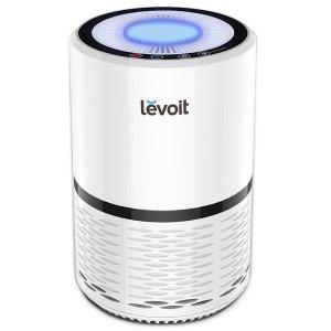 $76.99LEVOIT LV-H132 带HEPA滤芯空气净化器