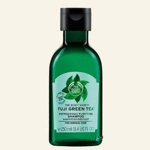 The Body Shop2 for $16Fuji Green Tea™ Refreshingly Purifying Shampoo