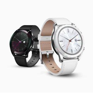 $169.99 两色可选 包邮Huawei Watch GT 雅致款智能手表 三卫星定位 带心率监测
