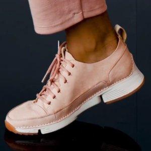 低至4折+额外8折+免邮Clarks官网 精选男女鞋履清仓热卖  三瓣鞋超值