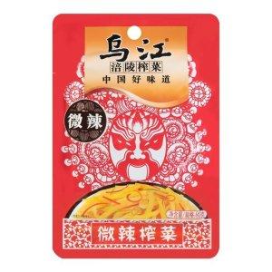 乌江涪陵榨菜 微辣榨菜丝 80g *5