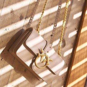 专场8折 黑色燕子包€201收Pinko燕子包新品秘密闪促 小众经典新配色 买它!