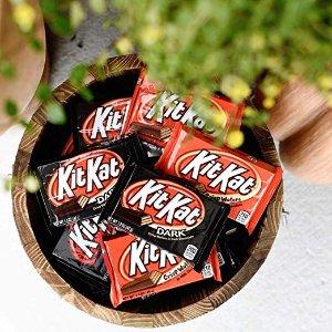 现价$12.79 原价(15.99)KIT KAT 黑巧克力牛奶巧克力混合装 18块