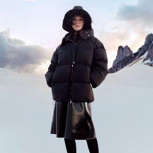 无门槛8折 羽绒羊毛夹克€520Moncler 超罕见折扣 冬日吸睛神器 酷潮青年新选择