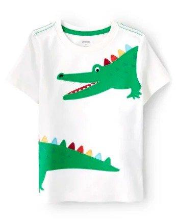 男童小鳄鱼短袖