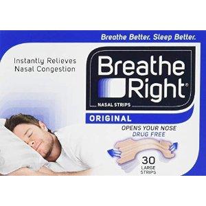 Breathe Right通气鼻贴 30片 大号