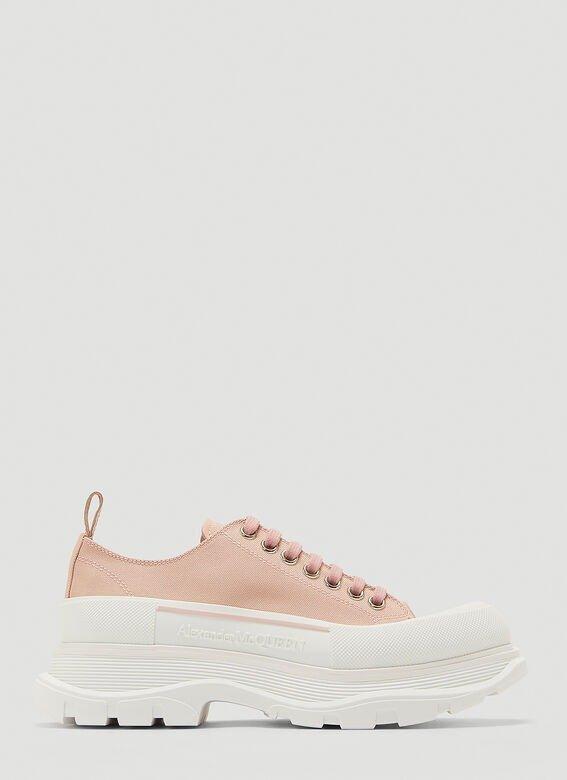 蜜桃色老爹鞋